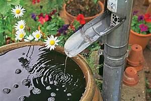 Anschluss Regentonne An Fallrohr : regenwasser sammeln mein sch ner garten ~ A.2002-acura-tl-radio.info Haus und Dekorationen