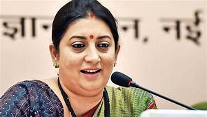 AAP, Congress will be wiped out from Delhi, says Smriti Irani