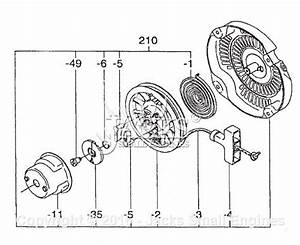 Robin  Subaru Ex17 Parts Diagram For Cooling  Starting Ii