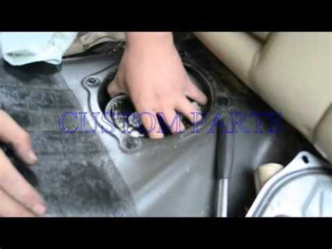 install replace  fuel pump assembly  seat