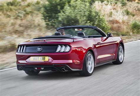 2018 Ford Mustang Gt Convertible 50 Images Hd Car