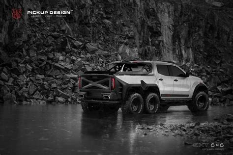 There are no translations available. Mercedes-Benz X-Class EXY 6x6 by Pickup Design 2018 года выпуска. Фото 3. VERcity