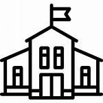 Icon Kindergarten Buildings Icons College Education Premium