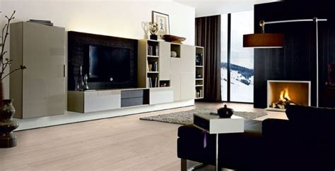 Meuble Tv Design  Comment Intégrer Une Téléviseur
