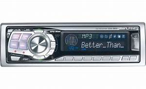 Alpine Cda Mp3  Wma Receiver With Cd Changer
