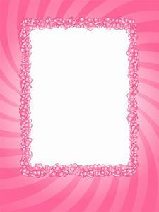 pink frame | Pink Hearts Valentine Frame by ~flashtuchka ...
