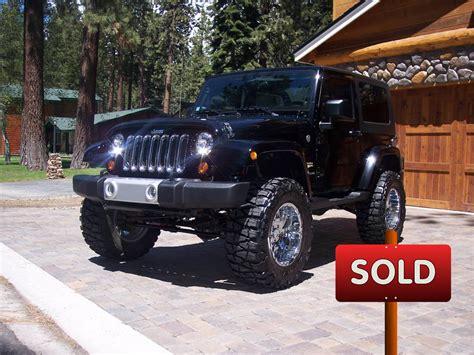 custom jeep sahara wrangler sold socal trucks