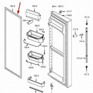 Joint Porte Refrigerateur : joint porte de r frig rateur rep re 1910 whirlpool ~ Premium-room.com Idées de Décoration