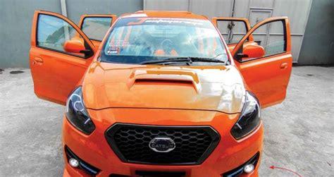 Modifikasi Datsun Go by Modifikasi Datsun Go Plus Juli Agustus 2019