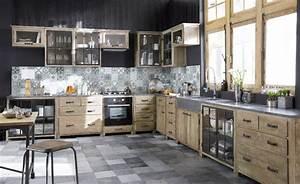 meuble de cuisine industriel attractive peindre ses With meuble de cuisine industriel 17 costco ameublements ca