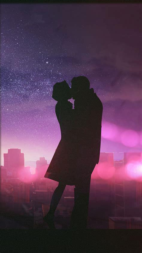 valentine couple kissing