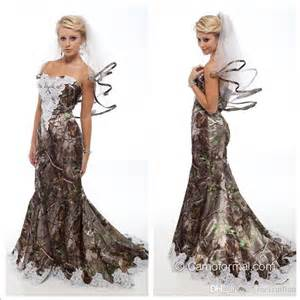 cheap country wedding dresses 2016 new lace appliques mermaid camo wedding dresses 2016 sweetheart camouflage bridal wedding