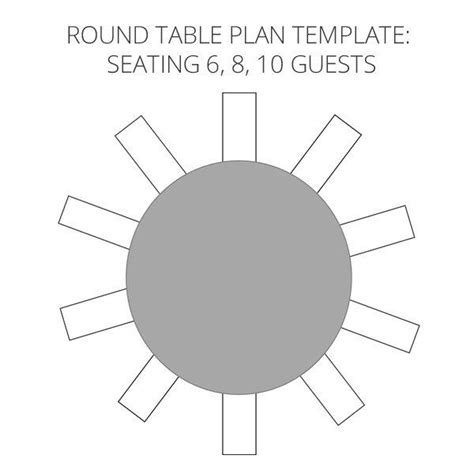 wedding seating plan template ideas