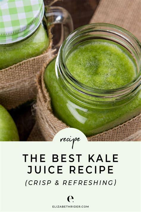 kale juice recipe recipes ever juicer breville aid