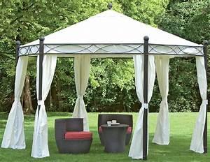 Pavillon 6 Eckig : siena garden pavillon kenia ll 6 eckig mocca art jardin ~ Indierocktalk.com Haus und Dekorationen