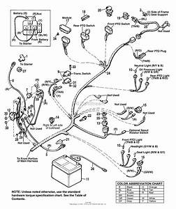 Simplicity 1692525 - 2918h  18hp Hydro Parts Diagram For Main Wiring Harness