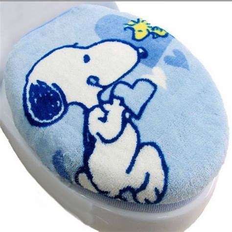 Bluss Sassy Tolet snoopy toilet seat cover