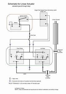 Wiring Diagram Linear Actuator
