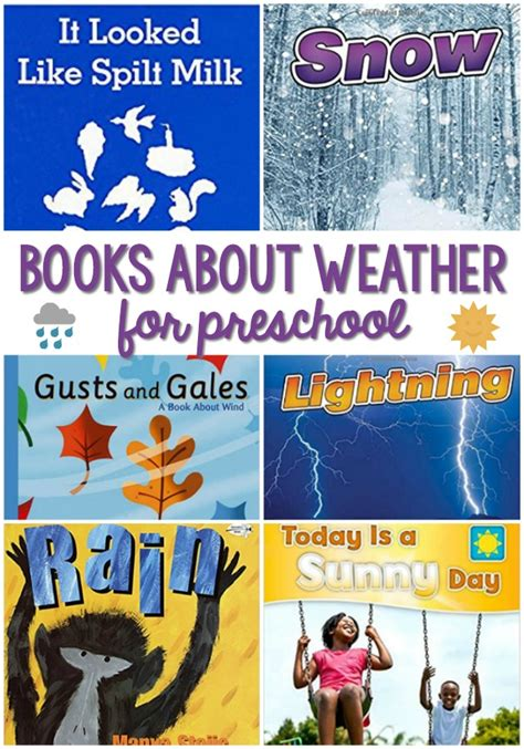 weather books for preschoolers pre k pages 828 | Books About Weather for Preschool