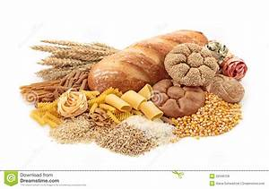 Foods High In Carbohydrate Stock Image  Image Of Health