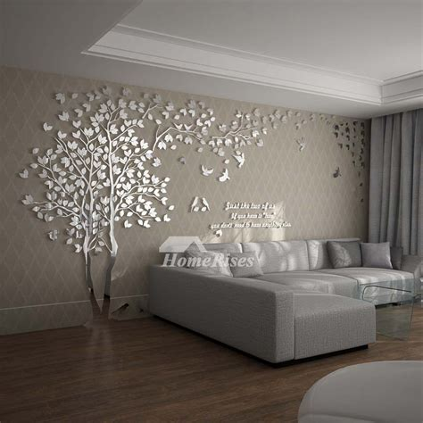 house wall decor wall decals for living room tree acrylic home personalised