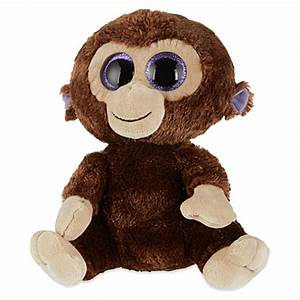 Ty Beanie Boos - Coconut The Monkey  Large Size