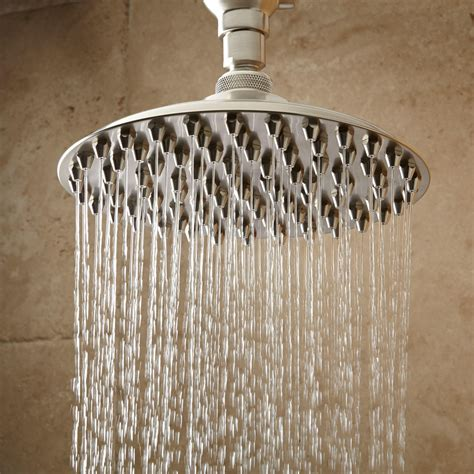 bostonian rainfall nozzle shower head   type arm