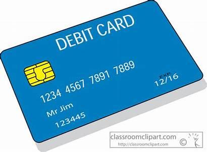Card Debit Clipart Money Cards Payment Growth