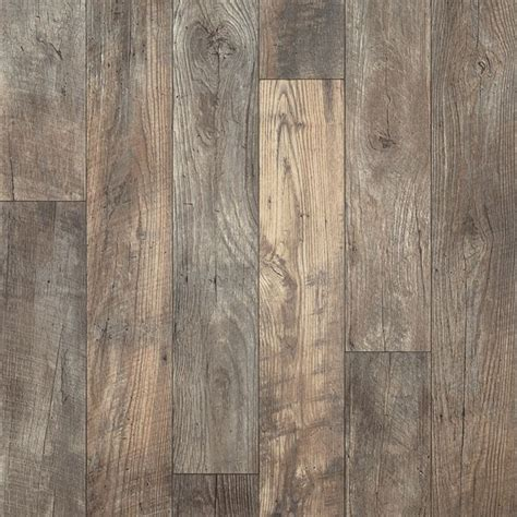 Resilient Plank Flooring Barnwood by A Remarkably Realistic 6 Distressed Oak Pattern