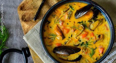 bisque de moules recette facile le blog cuisine de samar