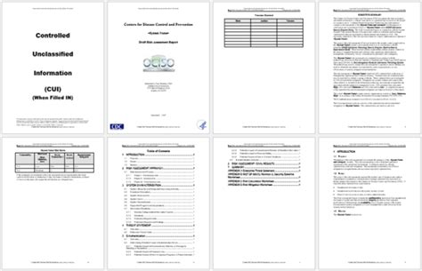 risk analysis templates word excel