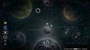 Destiny Planets Map - Pics about space