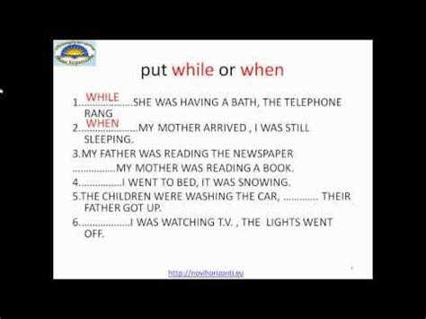 continuous worksheet  continuous grammar angielski