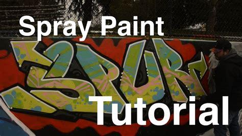 Artprimocom Graffiti Spray Paint Tutorial Spur Youtube