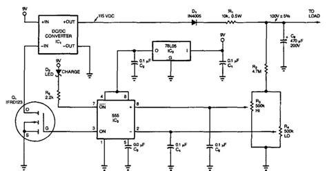 Period Voltage Converter Circuit Diagram