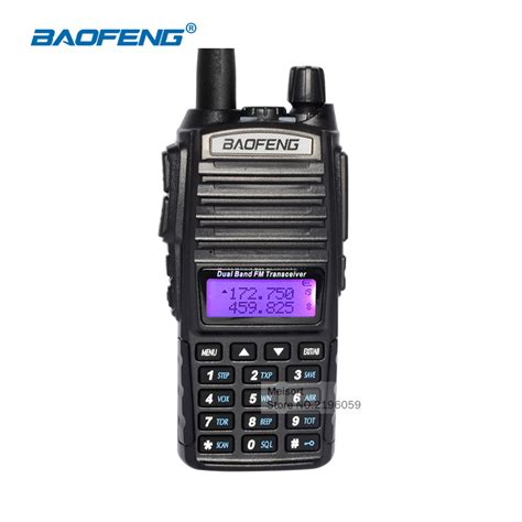walkie talkie with headset baofeng uv 82 2 way radios range dual band cb radio communicator