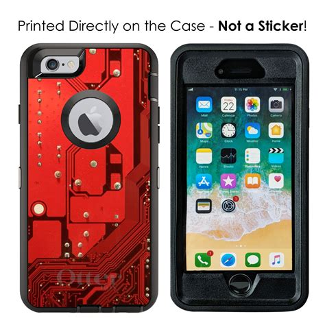 Otterbox Defender For Iphone Plus Max Red
