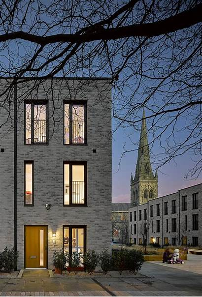 Square Timekeepers Buttress Award Wins Brick Architecture