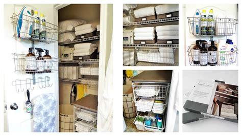 linen closet organization ideas dollar tree target
