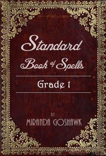 standard book  spells grade   miranda goshawk