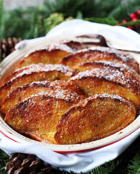 Baked Eggnog French Toast Casserole Kitchen Explorers