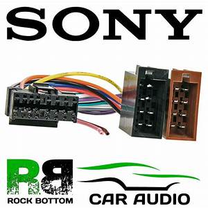 Sony Cdx Series Car Radio Stereo 16 Pin Wiring Harness