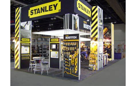 hill partners designs  manages stanley tools booth