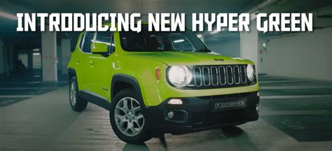 hyper green jeep halloween hyper green renegade ad is well we re not sure