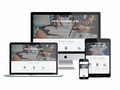 Website Template Templates Onepage Tax Responsive Agethemes