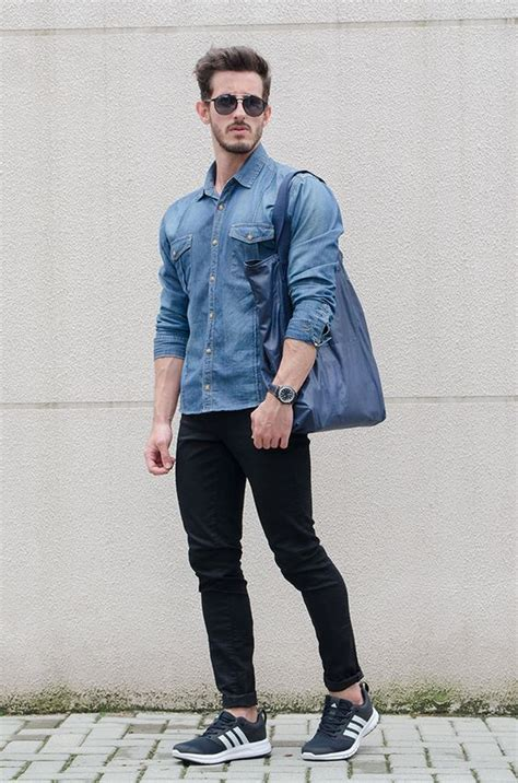Black Jeans Outfits For Men Ways Wear Guys