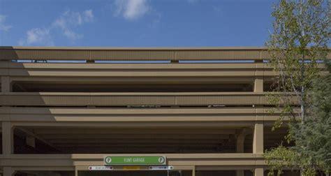 Flints Garage by De Anza College Flint Parking Garage Now Open And Safer