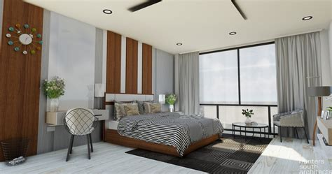 Bedroom 4k Model In Sketchup  Showcase Enscape