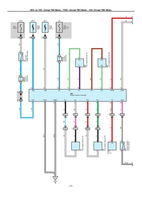 Toyota Corolla Electrical Wiring Diagrams