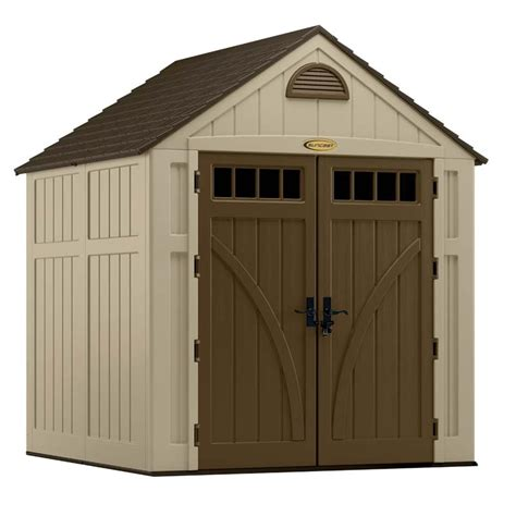 7x7 rubbermaid shed home depot suncast bms7720 shed ships free storage sheds direct